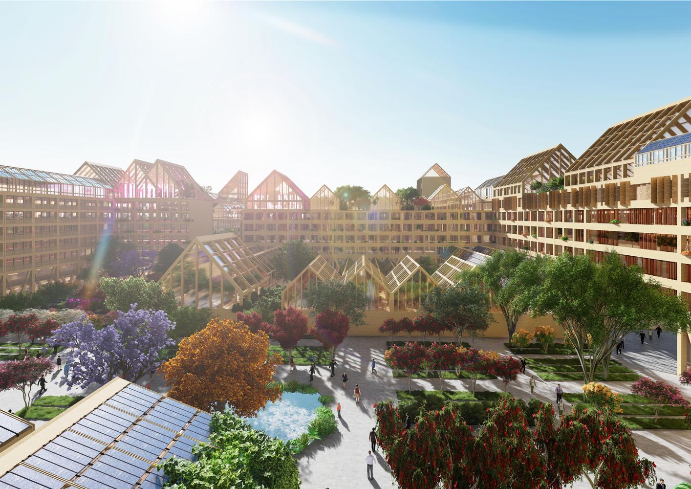 китай город будущего