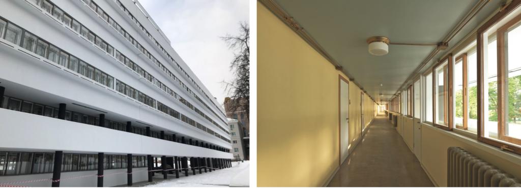 Реставрация дома Наркомфина г.Москва