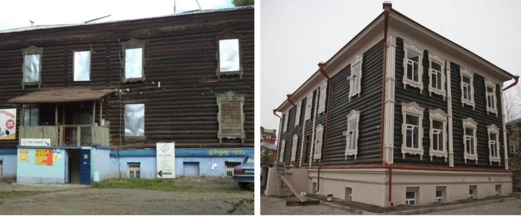 """Проект по реставрации домов """"Дом за рубль"""""""